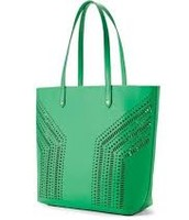 Fillmore tote, kelly green