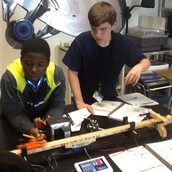 Getting their PHYSICS on!