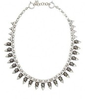 Lynx Pearl & Stud Necklace