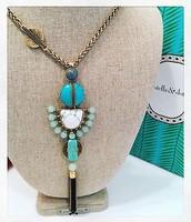 Totem Tassel Necklace