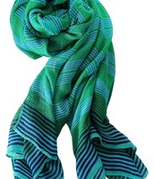 Palm Springs Turquoise Scarf