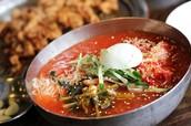 Mixed Cold Noodles (Bibim Naengmyeon 비빔 냉면)