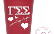 Use this Gamma Sig Cup to cool off in the heat at homecoming