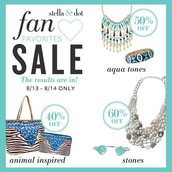 Facebook Flash Sale (8/13 & 8/14 only) and Summer Sale!