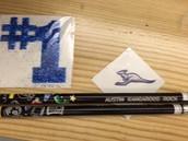 Tatoos and Roo pencils