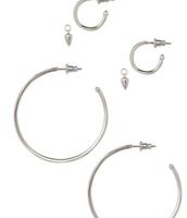 Orbit Hoops Earrings > $22 (NEW)