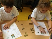 Using euros and cents to make different totals