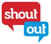 #ShoutOuts