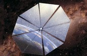 Strapping solar sails