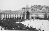 Praça do Comércio no século XIX