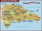 Map of Domican Republic