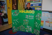Ian's Ninjago Poster