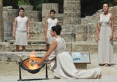 The Fire Lighting Ceremony