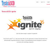 Texas ASCD Ignite Conference in Irving