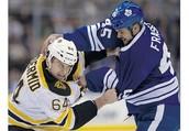 Boston Bruins vs Maple Leafs