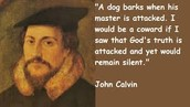 A picture of John Calvin