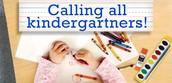 2016-2017 Kindergarten Registration