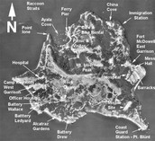 Map of Angel Island