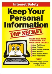 1. Keep your personal information top secret.