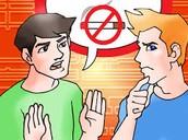 No tengas miedo a decir no a las drogas