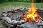 Gather round the fire for an evening of food, music and spiritual nourishment