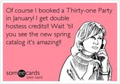 January is Double Hostess Credit!!!