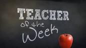 Teacher of the Week