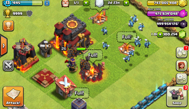 clash of clans free download mod