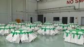 Set Meja Makan Majlis Perasmian lengkap
