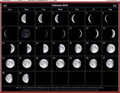 February 2016 Lunar Calendar