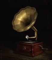Nice good old fashion gramophone