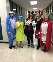 6th Grade Teachers as Disney Characters