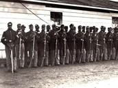 Members of the 54th Massachusetts Volunteer Infantry