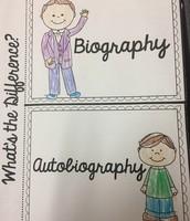 Biography vs. Autobiography