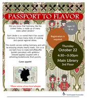 Passport to Flavor: Destination Germany!