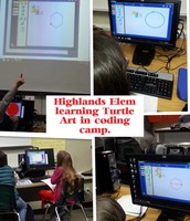 Highlands ES Computer Coding Club