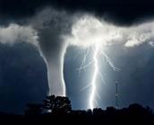Thats a bright light tornado