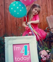 JoLeigh Turned 4!