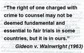 Amendment 6 court case Pointer vs. Texas