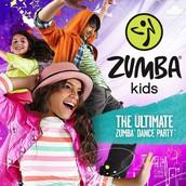 Grades K-4: Zumba Kids!