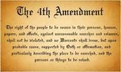 The Fourth Amendment applies to....