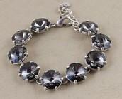 Amelie Sparkle Bracelet- Silver