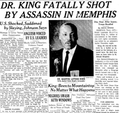 MLK newspaper