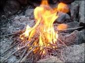 It's a fire!