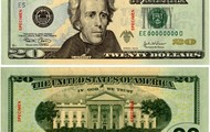 Andrew Jackson  on a 20 dollar bill