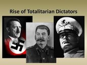 Rise of Totalitarians Regimes