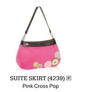Suite Skirt - Pink Cross Pop