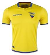 La camisa de fútbol de Ecuador!