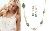 Pippa necklace & Pippa earrings