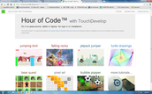Hour of Code™ with TouchDevelop